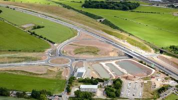 pivotal stretch of delayed £1bn aberdeen bypass opening