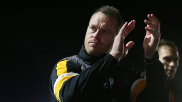 fa cup: newport manager mike flynn keeping cool over leicester pay day