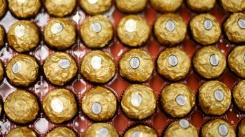 christmas chocolate boxes: up to half of weight is packaging