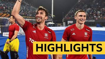hockey world cup 2018: england through to world cup semi-finals