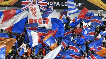 rapid vienna v rangers: no tickets going spare for sold out game, fans warned