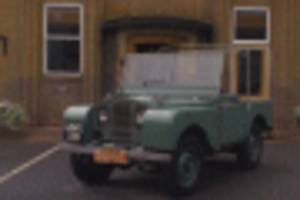 Woman reunited with Land Rover she worked with 70 years ago