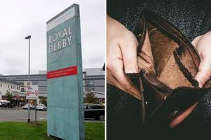 royal derby hospital pay change could 'ruin christmas' for flexible staff