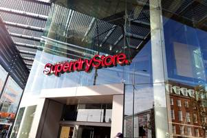 superdry set to 'consider store closures' as warm weather sees sales drop