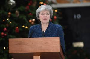 theresa may's speech as she faces no confidence vote - everything she said