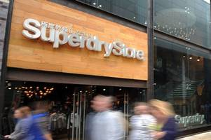 superdry considers closing stores as high street crisis rages on