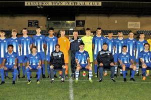 meet clevedon town under-18s - the local minnows set to play host to manchester city