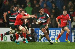 rugby rumours and transfer news: manu tuilagi's leicester tigers future discussed; sale sharks sign monster prop; bath want london irish star