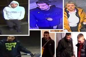 Wanted Wednesday: Do you recognise these people from CCTV images?