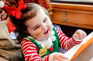 brave roxie, 5, ready for her first cancer-free christmas since 2014