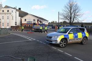 woman dies after being hit by a lorry on busy street