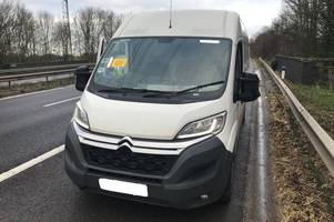 dvla give power to bedfordshire, cambridgeshire and hertfordshire road policing unit to seize vehicles left untaxed for longer than eight weeks
