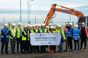 stansted airport college set to officially open for students