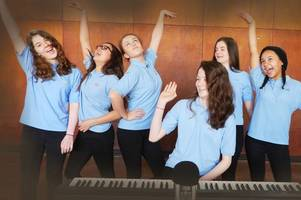 pupils prepare to release their songs in sing for your school's countywide chart challenge
