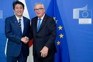 European Union seals major free trade deal with Japan