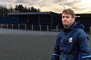 Kilwinning Rangers boss Chris Strain says doubts over future of Abbey Park is crippling club