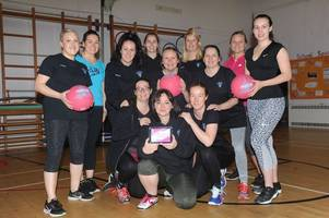 Winchburgh Warriors crowned Netball Scotland's Bounce Back to Netball Club of the Year