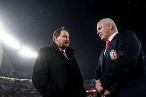 kiwi newspaper list warren gatland as contender for the all blacks job... but suggest he's better-suited to england