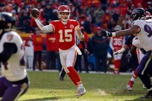 forget all the touchdowns, patrick mahomes's no-look passes are the talk of the nfl