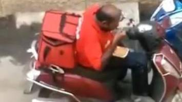 India delivery man sacked for eating food sparks sympathy