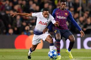Kyle Walker-Peters scouting report: An educational night in Barcelona for young Spurs defender
