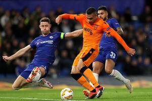 who was there, who wasn't and why chelsea trained in england ahead of mol vidi