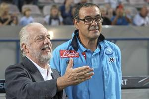 why maurizio sarri & chelsea will not face napoli in last 32 of the europa league