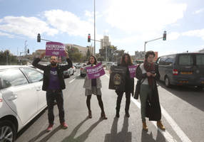 protests against government inaction on violence against women continue