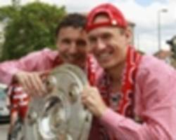 'there has been contact' - van bommel in touch with robben over psv reunion