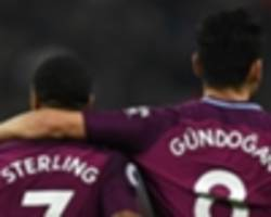 'i know how that feels and it hurts' - gundogan backs sterling after racial abuse