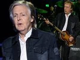 adrian thrills reviews paul mccartney's liverpool homecoming