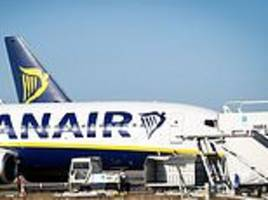 armed police storm ryanair flight after it diverts back to stansted airport when a fight breaks out