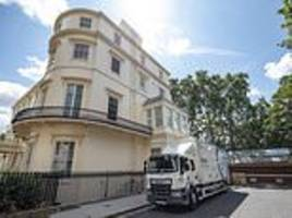 boris johnson 'ignored' official letters telling him to leave his £20million government apartment