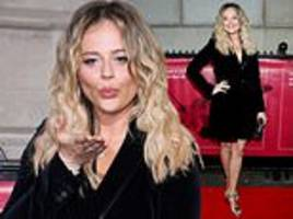 i'm a celebrity's emily atack wows at star-studded military awards