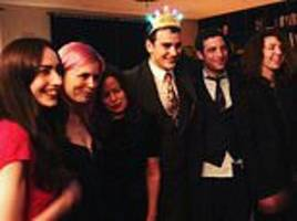 mick jagger's son gabriel sports a birthday crown as he celebrates turning 21