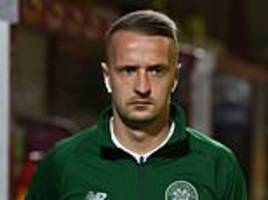 celtic striker leigh griffiths thanks well-wishers as he takes step back from football