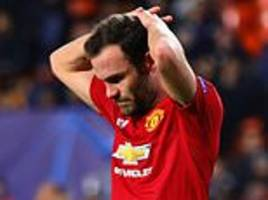 Mata bemoans 'disappointing night' as Manchester United blew chance to top Champions League group