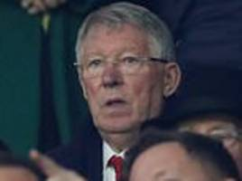 sir alex ferguson banned from attending man utd's win over fulham by doctors