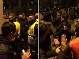 tottenham fan reveals 'scary' scenes outside the nou camp before barcelona clash