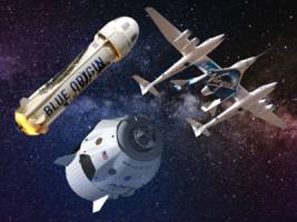 how spacex, blue origin, and virgin galactic plan on taking you to space