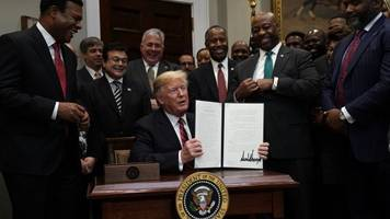 trump signs order meant to bolster 'opportunity zone' tax provision