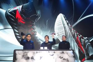 Chinese sportswear brand Peak Sport unveils high-tech smart material and sneaker PEAK-TAICHI