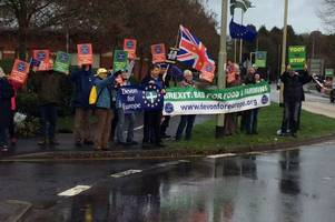 Campaigners head to Tiverton calling for a People's Vote on Brexit