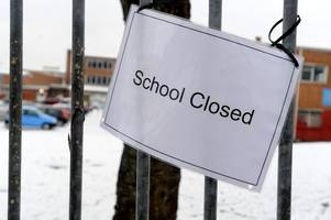 Full list of schools closed because of snow in Leicester and Leicestershire