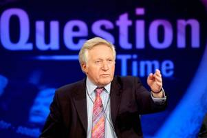David Dimbleby hosts final Question Time episode TONIGHT amid Brexit chaos