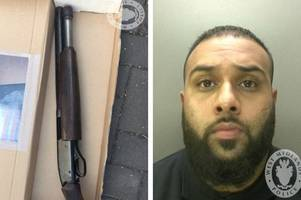 man jailed for stashing sawn-off shotgun in bmw