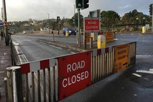 flood alert for part of devon coast as trains are cancelled again
