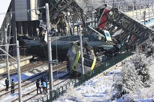 Train crash in Turkish capital leaves nine dead and dozens injured