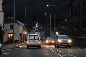 Town spends £13,000 on Christmas lights – but hardly any have been put up
