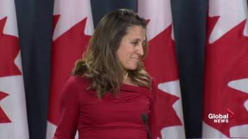 Countries that want to extradite from Canada 'should not seek to politicize' the process: Freeland